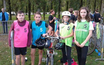 Mercredi 9 octobre compétition départementale  Run and bike